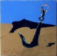 Anchor in the sand